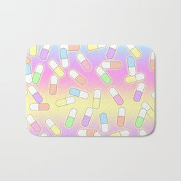 Pills and potions - pastel Bath Mat