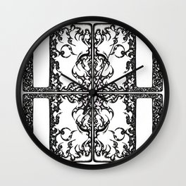 Way Within Window Wall Clock