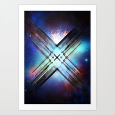 Sci-Fi Shards Art Print
