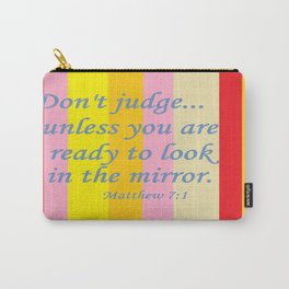 Don't Judge! Carry-All Pouch