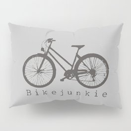 Bikejunkie Pillow Sham