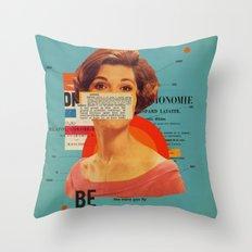 Be Throw Pillow