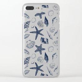 Underwater creatures Clear iPhone Case