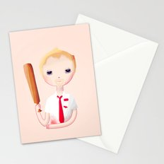 You've Got Red On You Stationery Cards