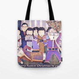 Merry F'n Christmas! Tote Bag