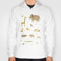 african Hoodies featuring African Animals by Sophie Corrigan