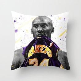 Black Mamba Basketball Print Basketball Wall Art Basketball Poster Basketball Wall Decor Poster Throw Pillow