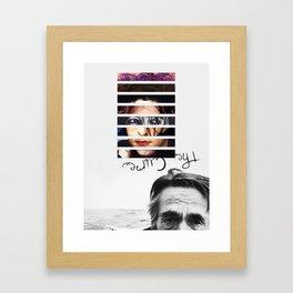 #TheCure Framed Art Print