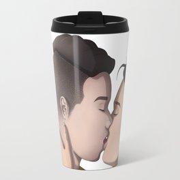 Kissing (no BG) Travel Mug