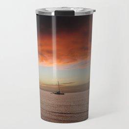 Molokai Sunset In December Travel Mug
