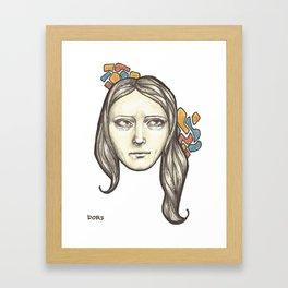 Danni Framed Art Print