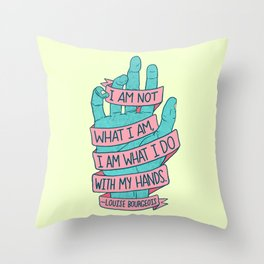 What I Am Throw Pillow