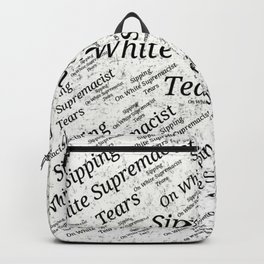 Sipping On White.... Backpack