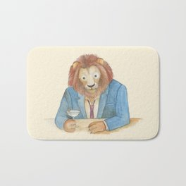 lion _ ligh Bath Mat