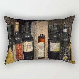 Vintage Wines Rectangular Pillow
