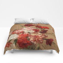 Henri Fantin Latour - Carnations Without Vase Comforters