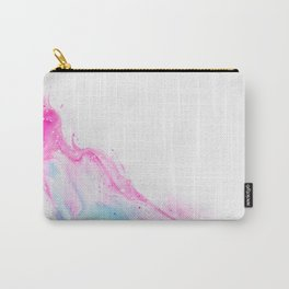 Pink Abstract Art Carry-All Pouch