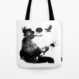 DEATH BLUES Tote Bag