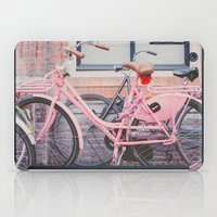 bike iPad Cases featuring Bike by Hello Twiggs