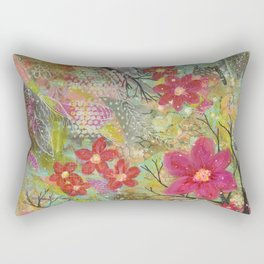 Spring Bursting Rectangular Pillow