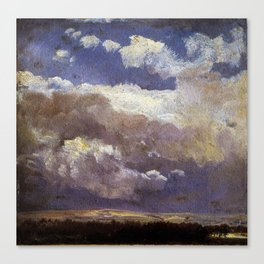 Johan Christian Dahl - Thunderclouds - Digital Remastered Edition Canvas Print