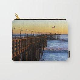 Ventura Pier, Ventura, CA. Carry-All Pouch
