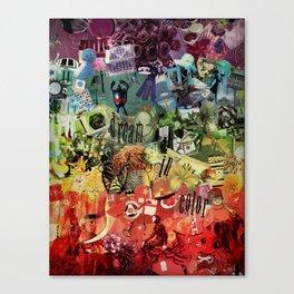I Dream In Color Canvas Print