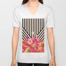 Floraline Unisex V-Neck