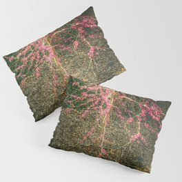 Chinese Red Bud  Pillow Sham