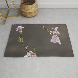Time to Shine - Magnolia Flowers Rug