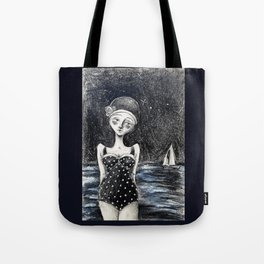 Midnight Tides Tote Bag