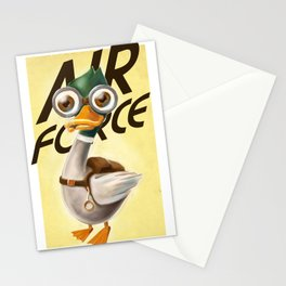 Corporal Duck Stationery Cards