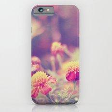 Retro Vintage style - flowers Slim Case iPhone 6s
