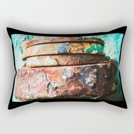 mixed metal race to cake Rectangular Pillow