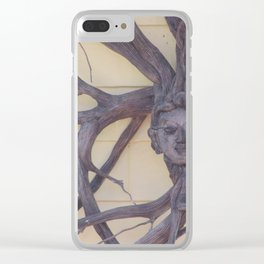 Hairs To Branching Out Clear iPhone Case