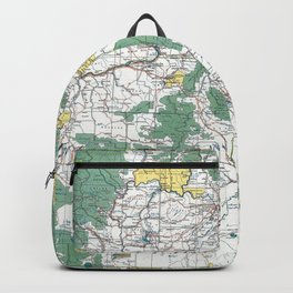 Pacific Northwest Map Backpack
