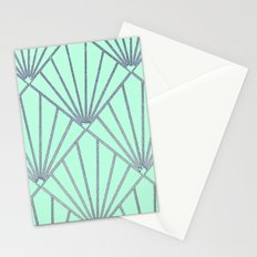 Art Deco Clams Stationery Cards