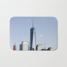 Sky Reach - World Trade Center - NYC Bath Mat
