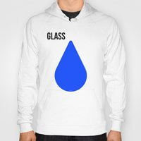 glass Hoodies featuring GLASS by try2benice