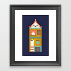 San Francisco Home Framed Art Print