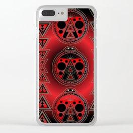 Ladybug Nation Clear iPhone Case