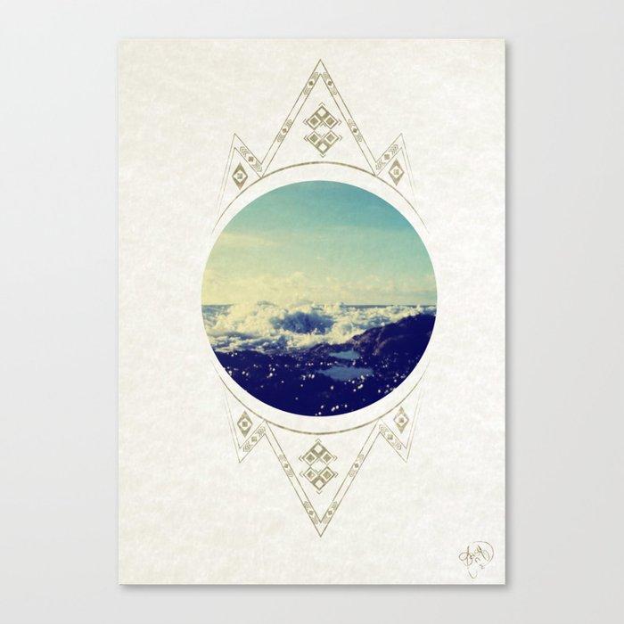 sea escape Canvas Print