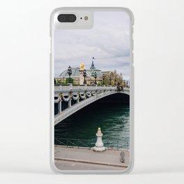 Pont Alexander III Bridge II Clear iPhone Case
