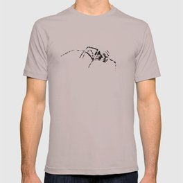 Black Widow Scribble T-shirt