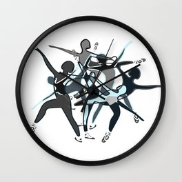 White Light - A study in Line, Color, and Light  Wall Clock