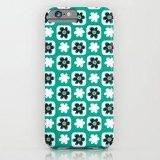 Emerald flower iPhone 6s Slim Case