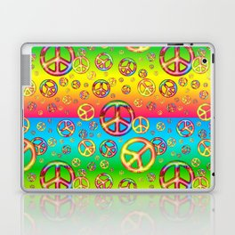 Crazy Kids Colors, Peace Out Laptop & iPad Skin