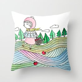 To Grandmother's house we go Throw Pillow