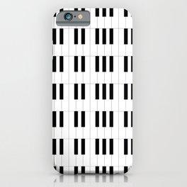 Piano Key Stripes iPhone Case