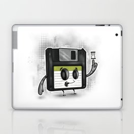 Floppy Disc Dave Laptop & iPad Skin